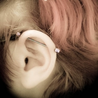 industrial scaffold piercing