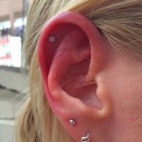 industrial strength helis flower piercing
