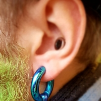 large gauge lobe anodized